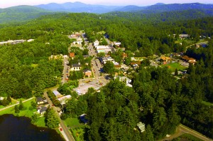 AERIAL View of HIGHLANDS NC