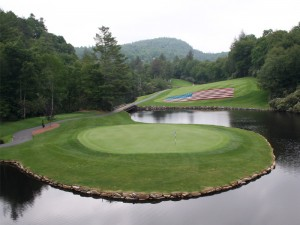 Highland Falls Country Club Signature Hole